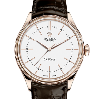 best Rolex Cellini 39 mm 18 ct Everose gold m50505-0020