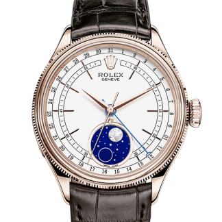 best Rolex Cellini 39 mm 18 ct Everose gold m50535-0002