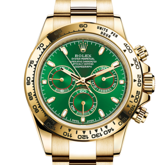 best Rolex Cosmograph Daytona Oyster 40 mm yellow gold m116508-0013