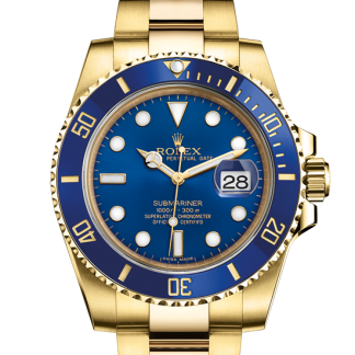 best Rolex Submariner Oyster 40 mm yellow gold m116618lb-0003