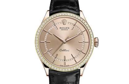 cheap Rolex Cellini 39 mm 18 ct Everose gold m50705rbr-0010