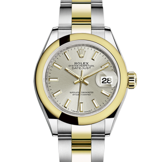 cheap Rolex Datejust Oyster 28 mm Oystersteel and yellow gold m279163-0020