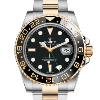 cheap Rolex GMT-Master II Oyster 40 mm Oystersteel and yellow gold m116713ln-0001