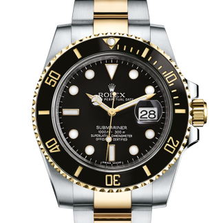 cheap Rolex Submariner Oyster 40 mm Oystersteel and yellow gold m116613ln-0001