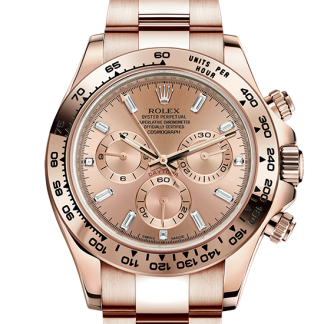 copy Rolex Cosmograph Daytona Oyster 40 mm Everose gold m116505-0006