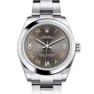 copy Rolex Oyster Perpetual Oyster 31 mm Oystersteel m177200-0018