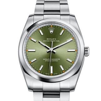 copy Rolex Oyster Perpetual Oyster 34 mm Oystersteel m114200-0021