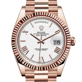 discount Rolex Day-Date Oyster 40 mm Everose gold m228235-0032