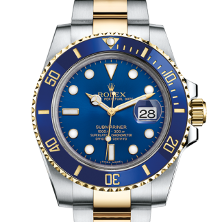 discount Rolex Submariner Oyster 40 mm Oystersteel and yellow gold m116613lb-0005