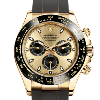 fake Rolex Cosmograph Daytona Oyster 40 mm yellow gold m116518ln-0040