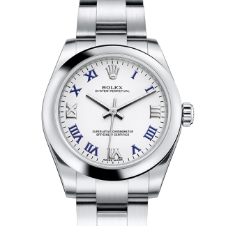 fake Rolex Oyster Perpetual Oyster 31 mm Oystersteel m177200-0016