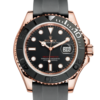 fake Rolex Yacht-Master Oyster 40 mm Everose gold m116655-0001