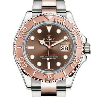fake Rolex Yacht-Master Oyster 40 mm Oystersteel and Everose gold m116621-0001