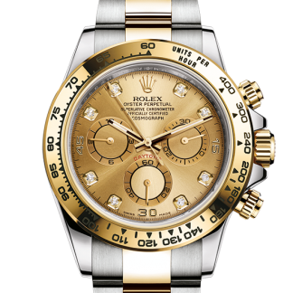 perfect Rolex Cosmograph Daytona Oyster 40 mm Oystersteel and yellow gold m116503-0006