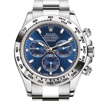 perfect Rolex Cosmograph Daytona Oyster 40 mm white gold m116509-0071