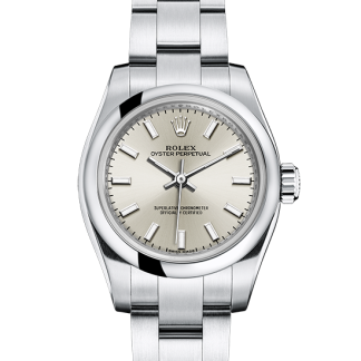 perfect Rolex Oyster Perpetual Oyster 26 mm Oystersteel m176200-0015