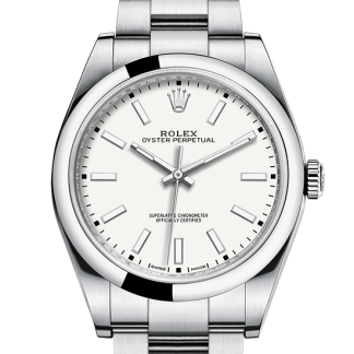 perfect Rolex Oyster Perpetual Oyster 39 mm Oystersteel m114300-0004