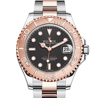 copy Rolex Yacht-Master Oyster 37 mm Oystersteel and Everose gold m268621-0004