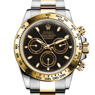 replica Rolex Cosmograph Daytona Oyster 40 mm Oystersteel and yellow gold m116503-0004