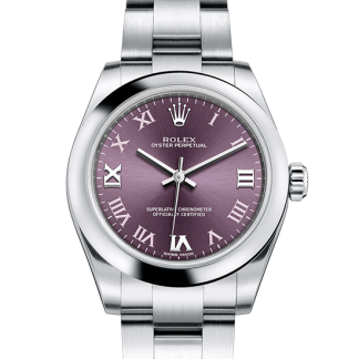 replica Rolex Oyster Perpetual Oyster 31 mm Oystersteel m177200-0017