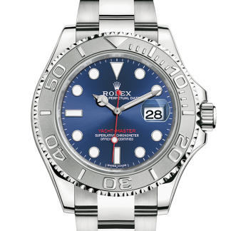 replica Rolex Yacht-Master Oyster 40 mm Oystersteel and platinum m116622-0001
