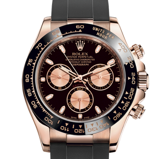 top Rolex Cosmograph Daytona Oyster 40 mm Everose gold m116515ln-0012