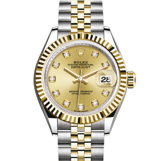 top Rolex Datejust Oyster 28 mm Oystersteel and yellow gold m279173-0011