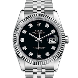 best Rolex Datejust Oyster 36 mm Oystersteel and white gold m116234-0083