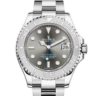 discount Rolex Yacht-Master Oyster 37 mm Oystersteel and platinum m268622-0002